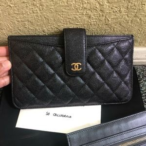 Chanel Large Clutch with removable insert